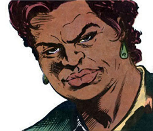 Amanda Waller of the Suicide Squad (DC Comics) is not amused