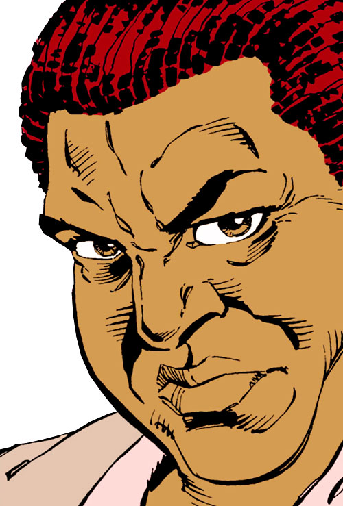 Amanda Waller of the Suicide Squad (DC Comics) focusing