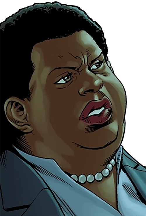 Amanda Waller of the Suicide Squad (DC Comics) in Raising the Flag