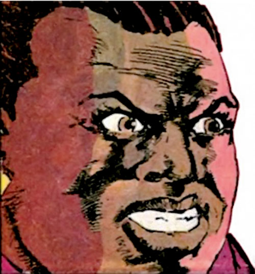 Amanda Waller of the Suicide Squad (DC Comics) enraged