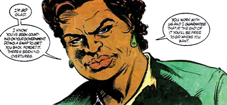 Amanda Waller making guarantees
