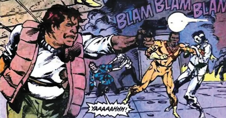 Amanda Waller shooting zombies