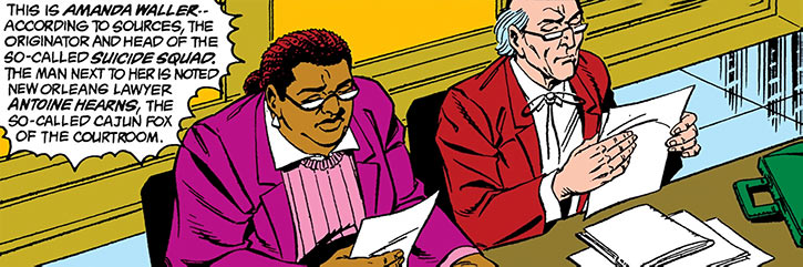 Amanda Waller facing a court