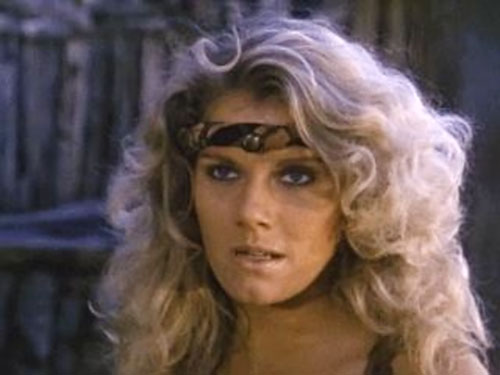 Amethea (Lana Clarkson in Barbarian Queen) being blonde