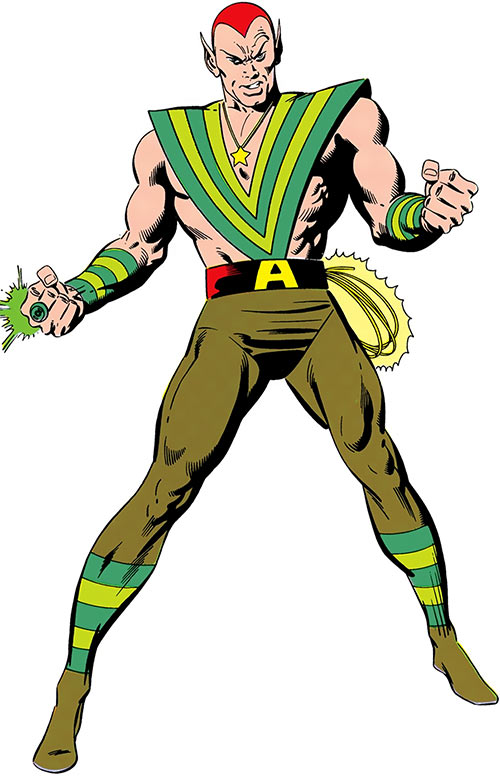 Amazo (DC Comics) from the Who's Who