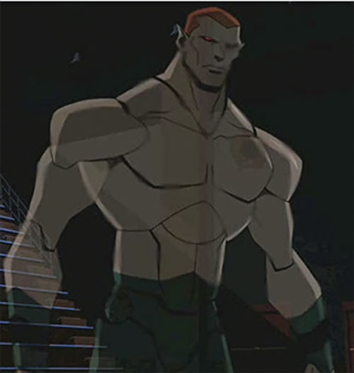 Amazo (Young Justice animated series) intangible