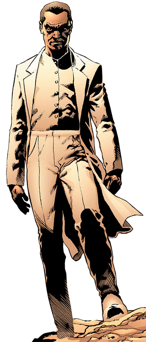 Ambrose Chase of Planetary (Wildstorm Comics) in his white suit