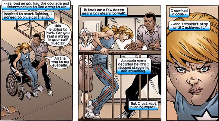 American Dream (Marvel Comics MC2) flashback childhood