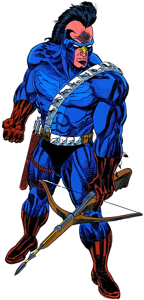 American Eagle (Marvel Comics) during the 1990s