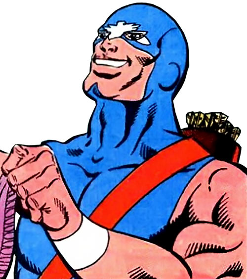 American Eagle (Marvel Comics) sans bonnet