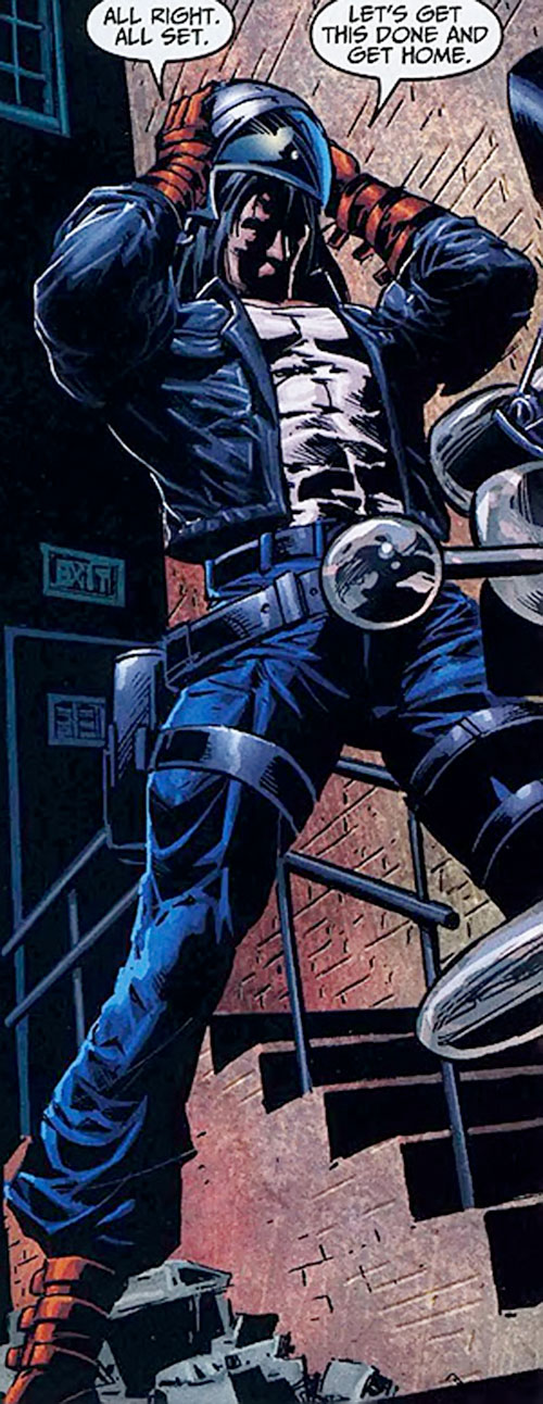 American Eagle (Marvel Comics) ready for battle