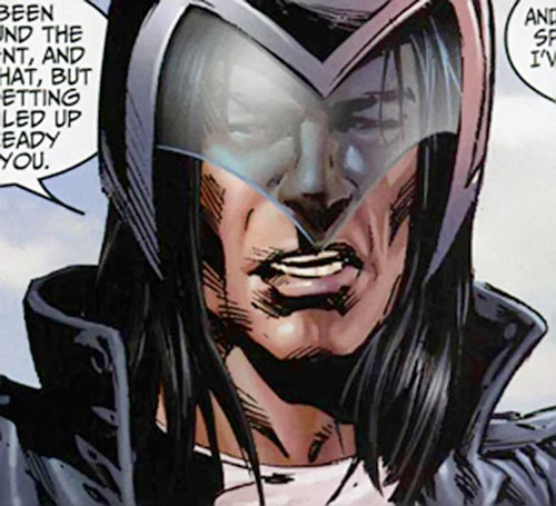 American Eagle (Marvel Comics) with his G-Force helmet
