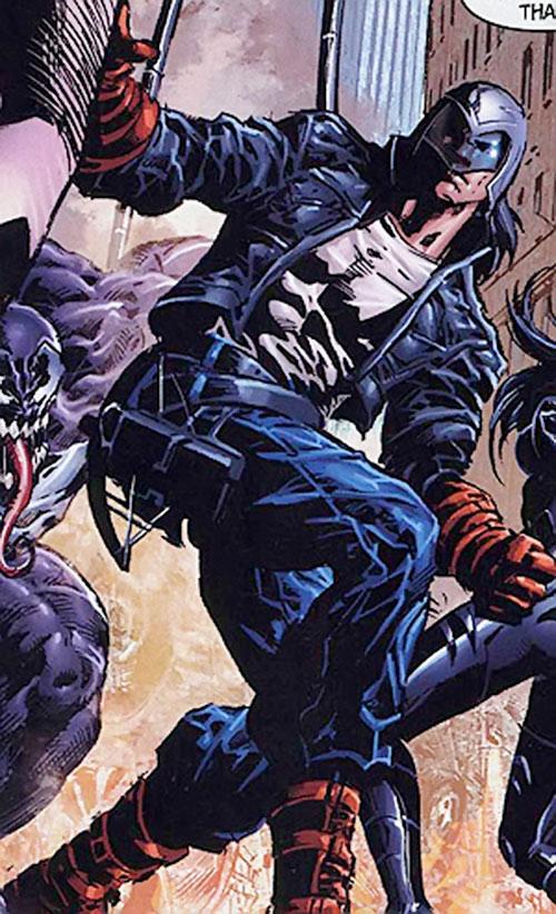 American Eagle (Marvel Comics) vs. the Thunderbolts