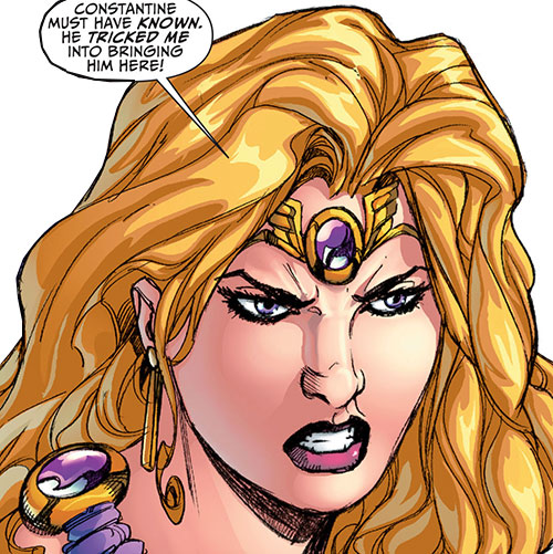 Amethyst (DC Comics New52) face closeup