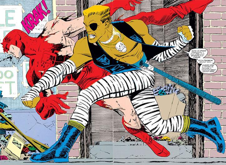 Ammo fighting Daredevil