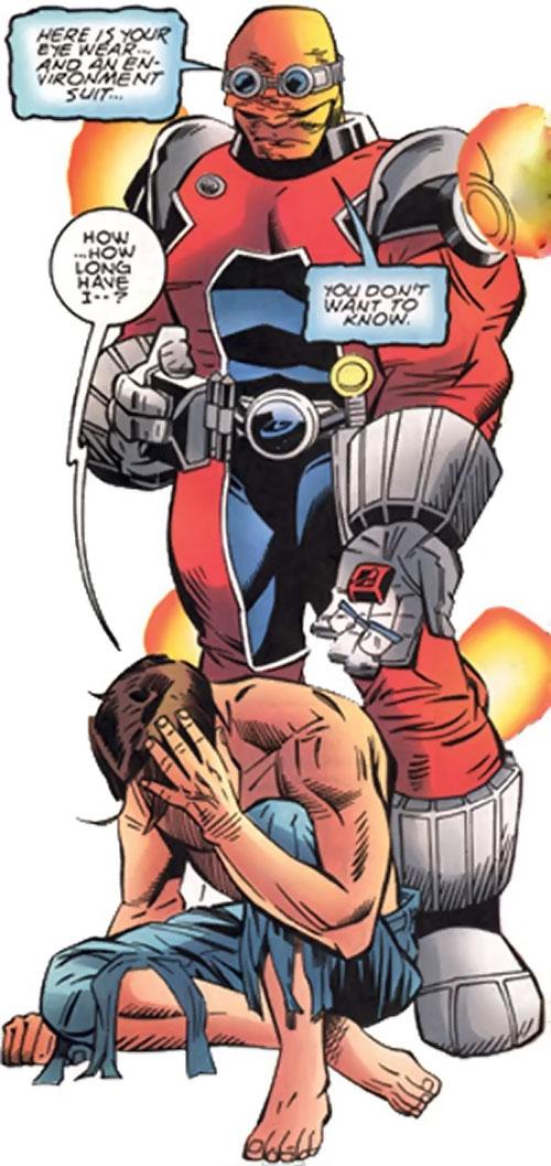 Amphibion (Marvel Comics) (Hulk character) and Bruce Banner