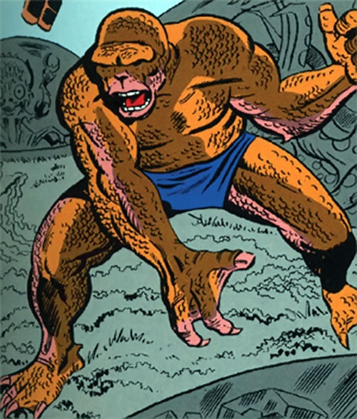 Amphibion (Marvel Comics) (Hulk character) in his early form