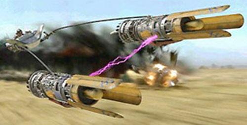 Anakin Skywalker (Star Wars episode 1) podracing