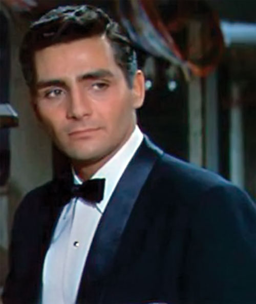 The Fly (Al Hedison in the original movie) with a tuxedo