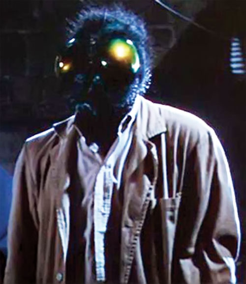 The Fly (Al Hedison in the original movie) with a fly head