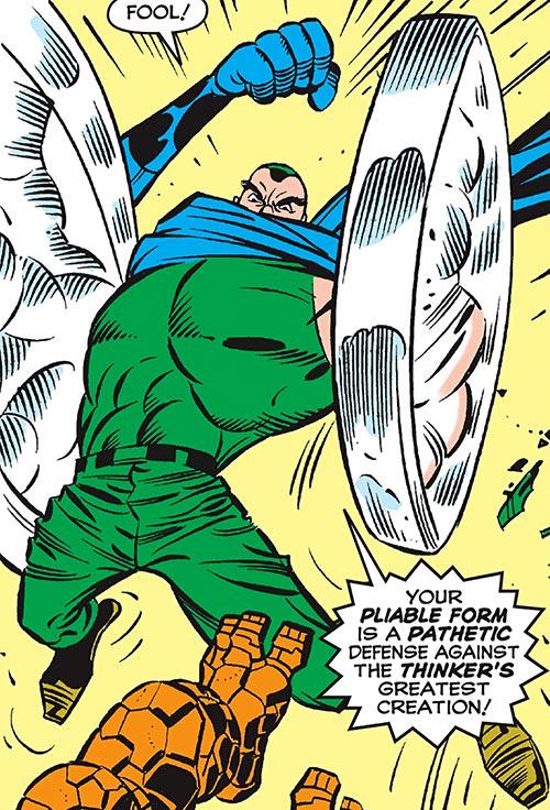 Android Man (Marvel Comics) vs. the Fantastic Four