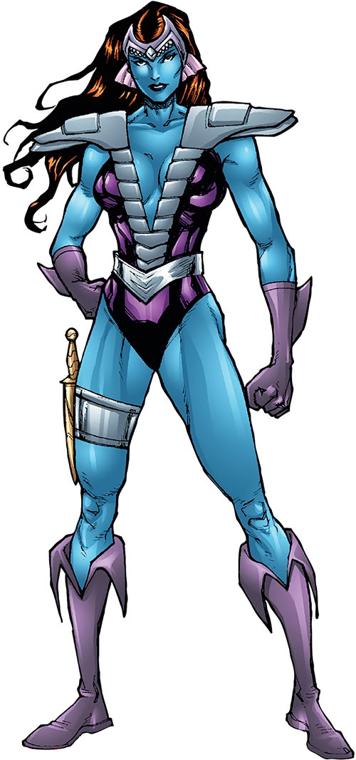 Andromeda Attumasen (Marvel Comics) modern look