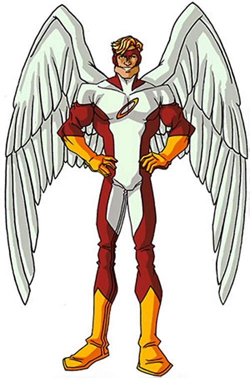 Angel (X-Men) (Marvel Comics) classic costumes by RonnieThunderbolts 2/6
