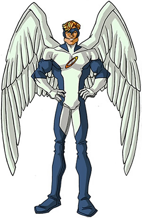 Angel (X-Men) (Marvel Comics) classic costumes by RonnieThunderbolts 4/6