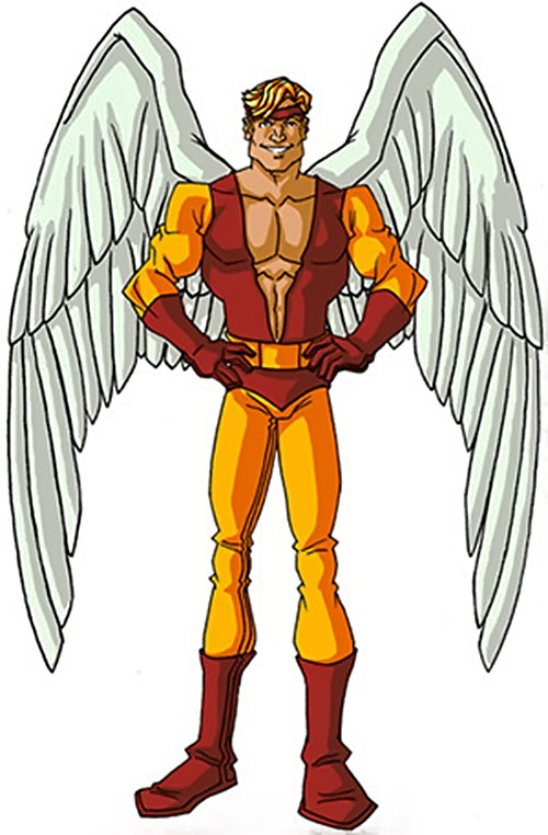 Angel (X-Men) (Marvel Comics) classic costumes by RonnieThunderbolts 5/6