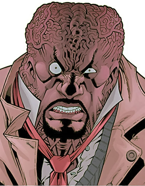 Angstrom Levy (Invincible enemy) (Image Comics) altered face
