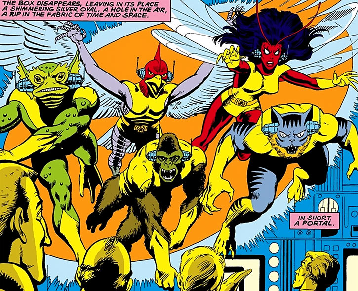 Ani-Men (Marvel Comics team) in Uncanny X-Men