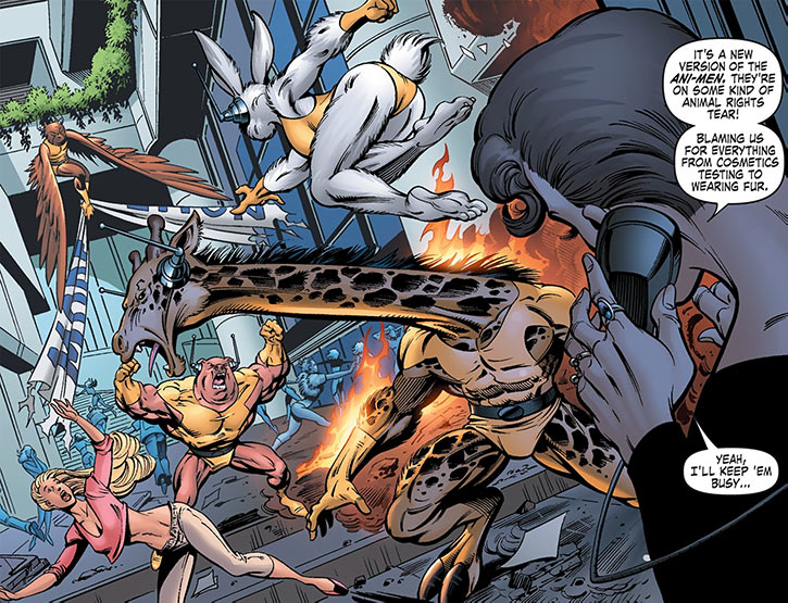 Ani-Men (Marvel Comics team) in GLA Great Lakes Avengers