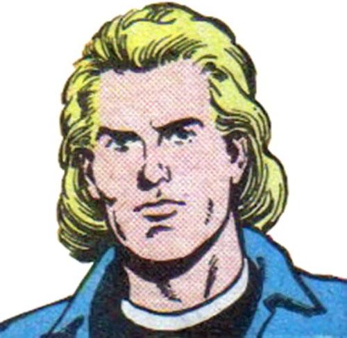 Animal Lad (Legion of Super-Heroes character) (DC Comics) face closeup