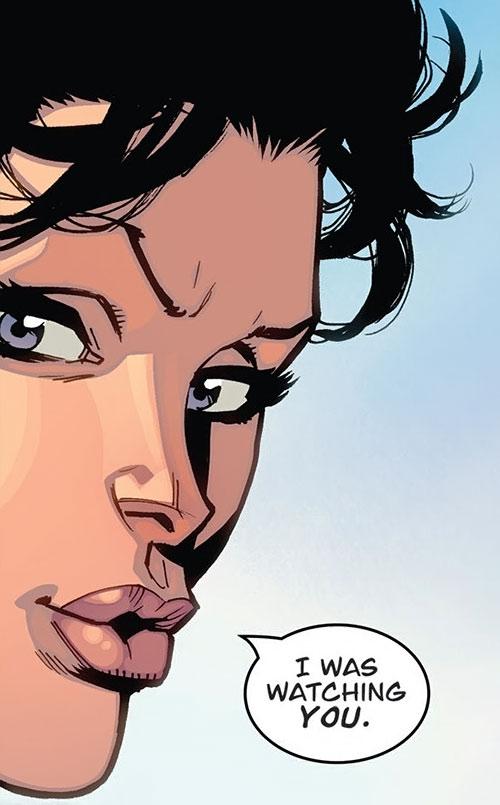 Anissa of the Viltrumites (Invincible comics) face closeup