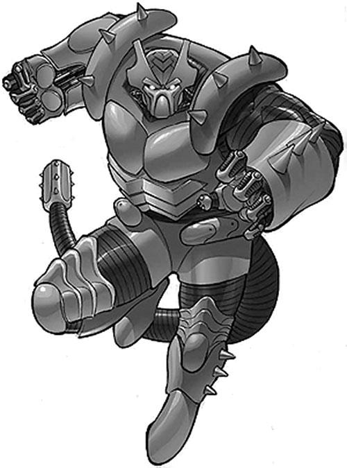 Ankylosaur (Champions RPG)