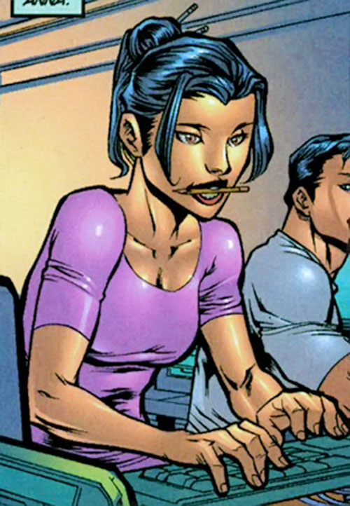 Anna Wei (Iron Man ally) (Marvel Comics) coding