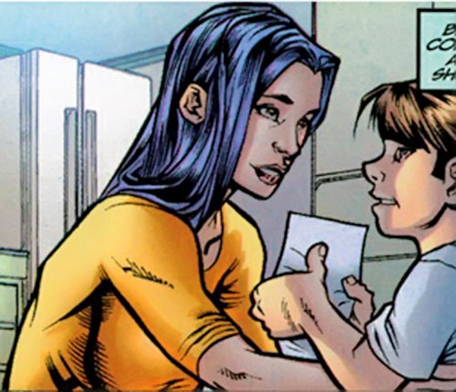 Anna Wei (Iron Man ally) (Marvel Comics) and her son