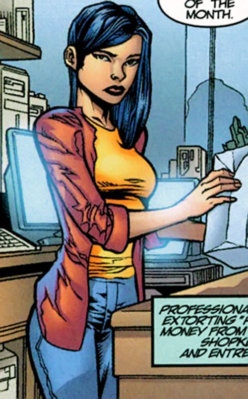 Anna Wei (Iron Man ally) (Marvel Comics)