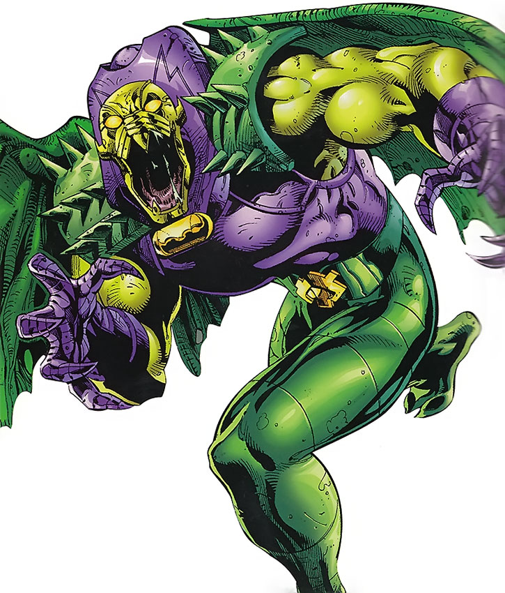 Annihilus, looking fierce
