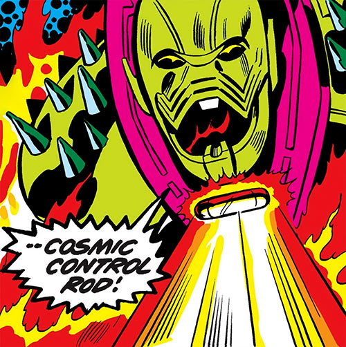 Annihilus (Marvel Comics) (Early) - Cosmic control rod
