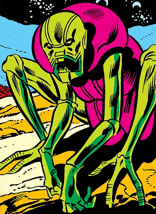 Annihilus (Marvel Comics) (Early) - Earliest form as a youth