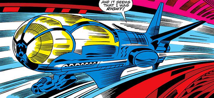 Annihilus (Marvel Comics) (Early) - Rail plane