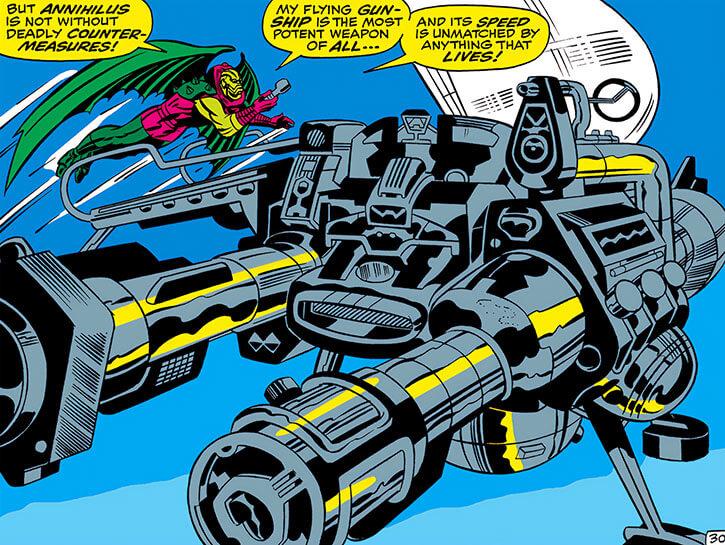 Annihilus (Marvel Comics) (Early) - Gunship