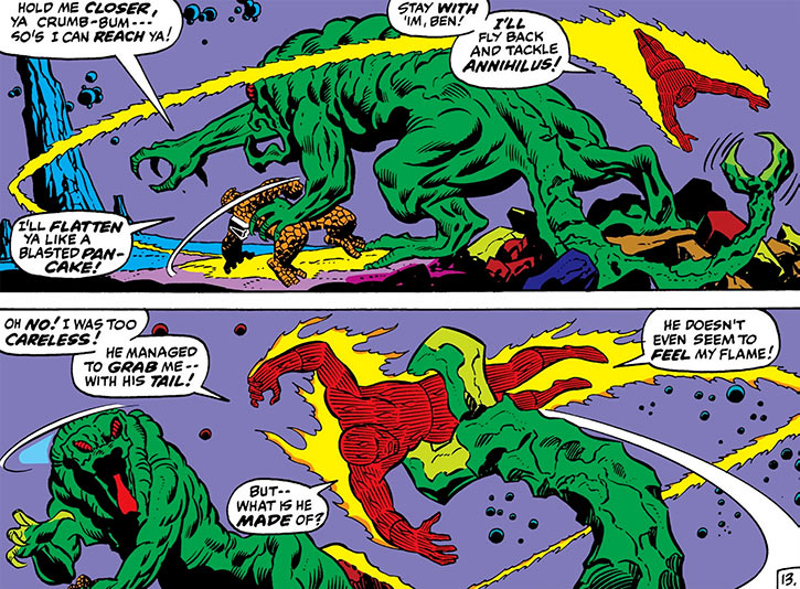 Annihilus (Marvel Comics) (Early) - Buttercup monster