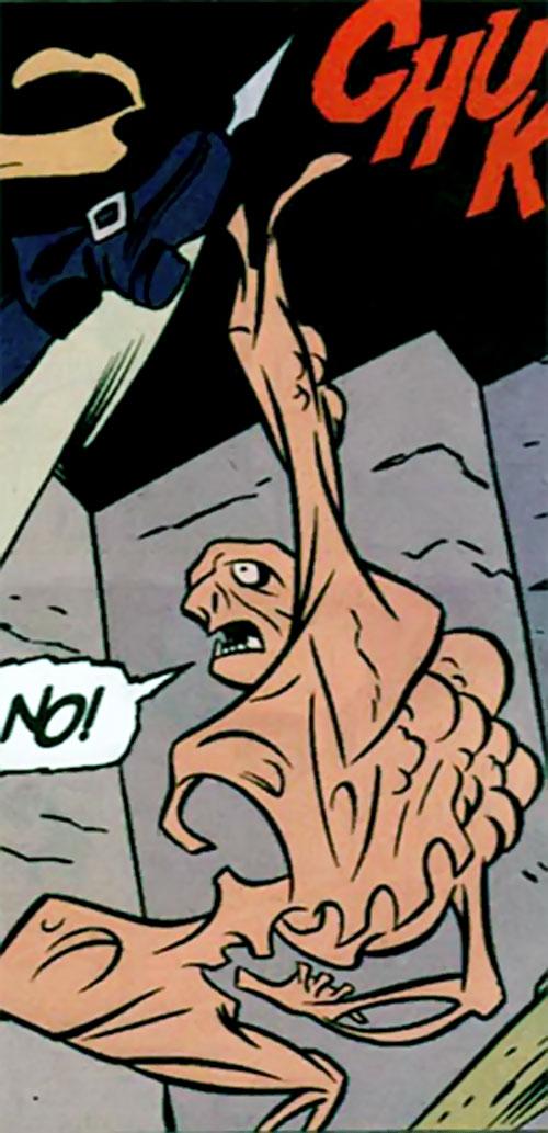 Anodyne sergeant (Catwoman enemy) (DC Comics)
