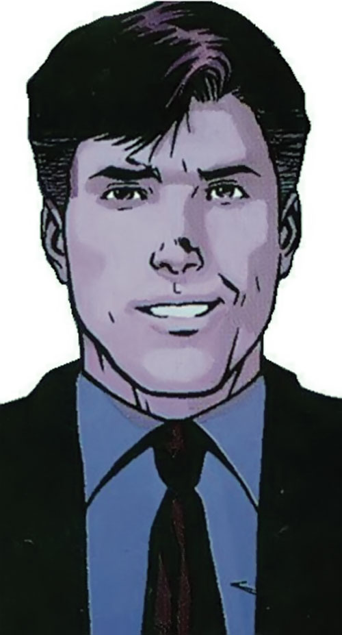 Anthem of the Order (Marvel Comics) (Matt Fraction) face closeup with suit