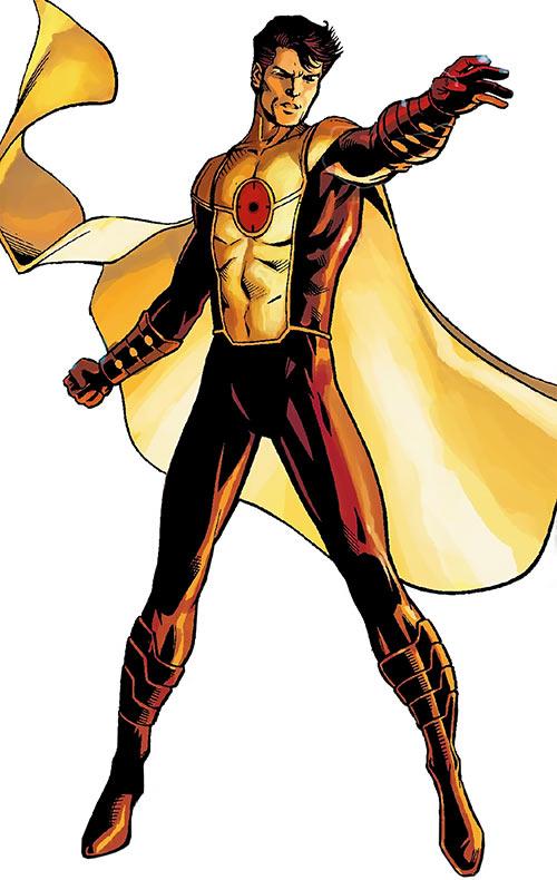 Anthem - The order - Marvel Comics - Iron Manual art