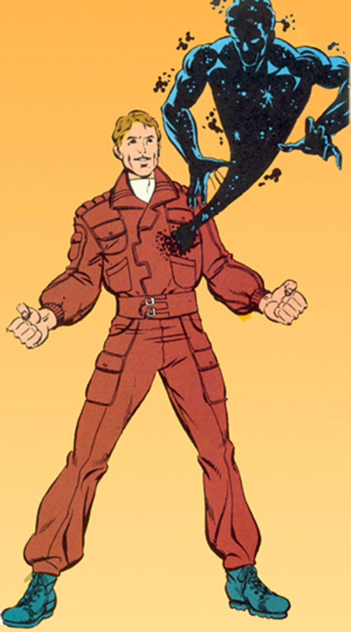 Antibody of DP7 (New Universe Marvel Comics)