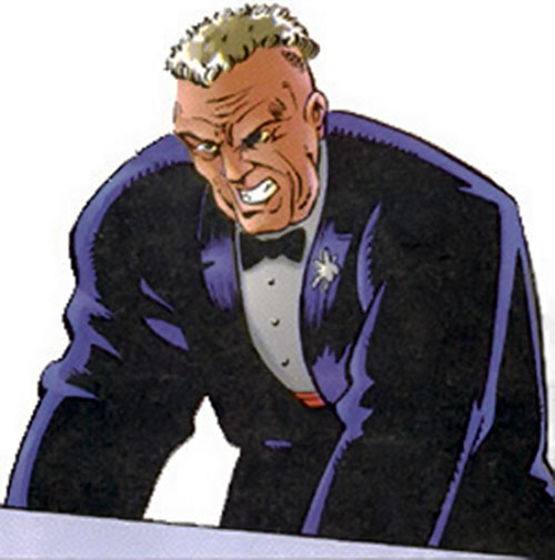 Anton Lone (Solitaire enemy) (Ultraverse) face