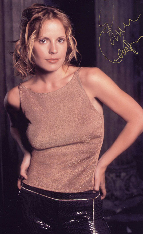Anya (Emma Caulfield in Buffy) signed photo